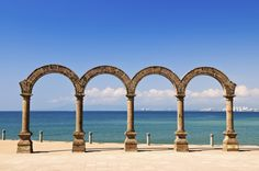 The Malecon Arches in #PuertoVallarta #pickyourparadise