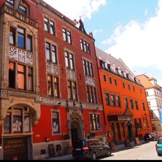 Shops in Wroclaw, Poland