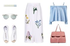 """""""Pack for Mexico VI"""" by carolinestyle96 ❤ liked on Polyvore featuring STELLA McCARTNEY, Mansur Gavriel, Christian Dior, Dolce&Gabbana and Sandy Liang"""