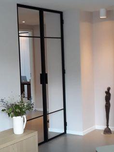 Dubbele stalen deur. gemaakt en geplaatst door Deurenvanstaal.com