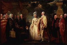 "Benjamin West, ""His Majesty George III Resuming Power in 1789"", 1789."