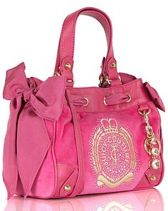 Juicy Iconic Crest Mini Daydreamer Womens Designer Bags, Balenciaga City Bag, Online Bags, Daydream, Juicy Couture, Shoulder Bag, Handbags, Mini, Stuff To Buy