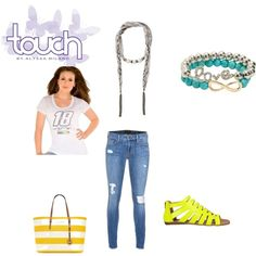 Touch by Alyssa Milano NASCAR collection