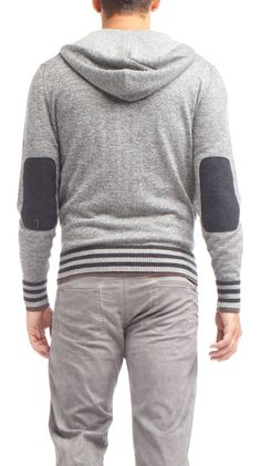 I realize this is for a guy...and I like it for a guy   Zip Hooded Sweater, Charcoal