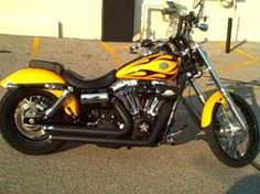 2011 Wide Glide®  - FXDWG  $16,495  5,771 miles  Yellow/Black  Wide Glide