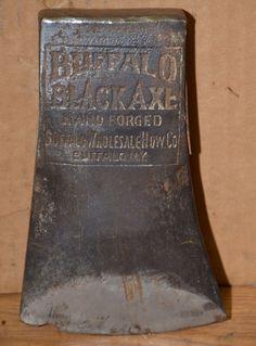 Buffalo Black Axe hand forged
