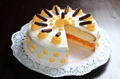Orangentorte Anstatt Orangen kann man auch Mandarinen nehmen. Schmeckt genau so lecker wie sie aussieht.