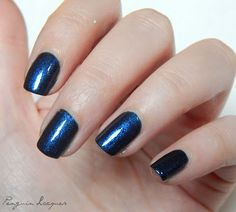 Kiko Pearly Sapphire Blue