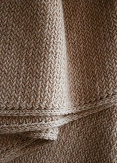 Men's Mini Herringbone Scarf | Purl Soho