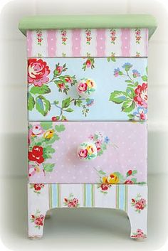 Pretty decoupage