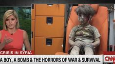 CNN anchor is moved to tears by image of Syrian 'boy in the ambulance' Image: CNN/screengrab  By Gianluca Mezzofiore2016-08-19 13:19:20 UTC  The appalling image of a five-year-old Syrian child sitting in the back of an ambulance  dazed dusty and confused  has been shared widely on social media and moved people across the world.  Video footage and pictures of Omran Daqneesh being loaded into the emergency vehicle during fighting in Aleppo were being used as a symbol of the suffering of…