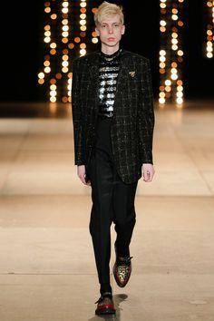 fb6d3b5e8074 Saint Laurent Fall-Winter 2014 Men's Collection Paris Saint, Hedi Slimane,  Fashion Show