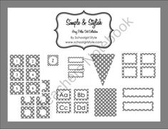 Gray Polka Dot Collection product from Schoolgirl-Style on TeachersNotebook.com