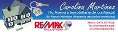 Banner para personalizar la firma del correo electrónico de una asesora de Remax Millenium!!! Fullideas, Estudio de Diseño!!!