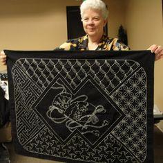 sashiko | Learning Sashiko Embroidery with Becky Scellato