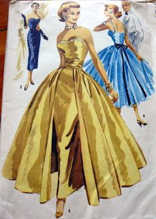 Vogue pattern - great starting point for a Sabrina dress