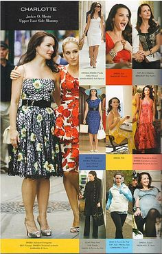SATC Movie - Charlotte York look book
