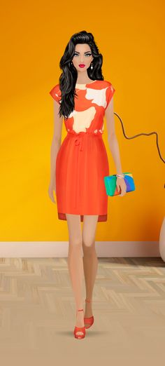 Tangerine covet Fashion Game
