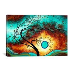 iCanvas 'Family Joy - Megan Duncanson' Giclee Print Canvas Art ($60) ❤ liked on Polyvore featuring home, home decor, wall art, backgrounds, textured wall art, canvas painting, giclee painting, ink painting and texture painting