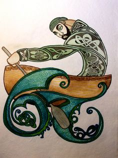 Gaeilge illumination of by loimestudios Loime Studios art is phenomenal! on etsy. Men's Rowing, Lion Tattoo Design, Poetry Collection, Celtic Art, Celtic Designs, Illuminated Letters, Art Studios, Tribal Tattoos, Artsy