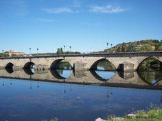 Portugal- Mirandela - Tua´s Bridge Mirror Effect