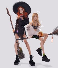 """krill survived thesis on is part of Krill Survived Thesis On In Bp Fanart Desenhos - Witches' day out BLACKPINK ChaeLisa Blackpinkfanart"""" Pretty Art, Cute Art, Character Inspiration, Character Art, Witch Drawing, Kpop Drawings, Pencil Drawings, Modern Witch, Witch Art"""