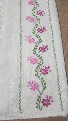 Cross Stitch Borders, Cross Stitch Patterns, Crochet Bedspread, Crewel Embroidery, Crochet Chart, Baby Knitting Patterns, Diy And Crafts, Kids Beanies, Cross Stitch Alphabet Patterns