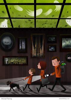 One of my superfavorites - Spectre Inspectors, by Michael Fleming (aka tweedlebop)