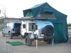Badass Off Road Trailer Designs and Pictures 1 - Awesome Indoor & Outdoor Off Road Camping, Truck Camping, Camping Gear, Camping Outdoors, Auto Camping, Camping Tricks, Camping Stuff, Expedition Trailer, Overland Trailer
