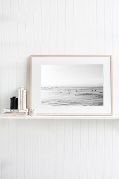 """""""The Pass Byron Bay"""" is a photographic wall art print in our Byron Bay collection. It is available with or without framing in small, medium, large or extra large sizes to buy online. Limited to 100 prints per size. Artwork Prints, Fine Art Prints, Kara Rosenlund, Stradbroke Island, Study Nook, Black And White Prints, Display Shelves, Display Ideas, Frame Sizes"""