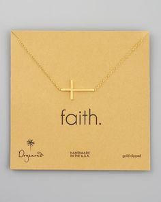 i love how all of dogeared jewelry has meaning to it and comes with the card that explains it