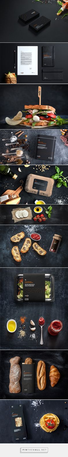 Walls™ sandwich shop on Behance... - a grouped images picture - Pin Them All