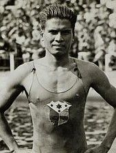 """Teófilo E. Yldefonso was a breaststroke swimmer who competed in the 1928 Ansterdam Olympics, 1932 Los Angeles Olympics and the 1936 Berlin Olmpics. Known as the """"Ilocano Shark"""", he is the first Filipino to win an Olympic medal, and the only Filipino to win multiple medals. Yldefonzo fought against the Japanese in Bataan and later died at Capas Concentration Camp. His great-grandson, Daniel Coakley, represented the Philippines in the 2008 Beijing Olympics in freestyle. #kasaysayan"""