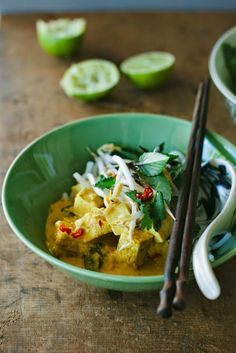 Spicy Tofu Curry (Vegan) | My Darling Lemon Thyme