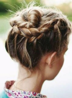 updos hair styles for long hair
