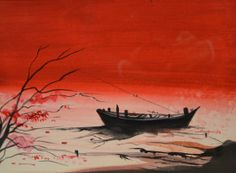 """New artwork added on IndianArtCollectors!  """"Sankarpur 2"""" by Swapan Das  See more artworks by Swapan Das at: http://www.indianartcollectors.com/artist/SwapanDas"""