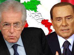 La dimisión de Mario Monti, el adelanto electoral y el regreso de Berlusconi reactivan la incertidumbre política en la mayor economía periférica. La prima de riesgo de Italia bajó la semana pasada de los 300 puntos por primera vez desde marzo. Hoy se ha disparado hasta los 360 puntos. La aversión al riesgo se extiende a la deuda española, y la prima sube desde los 416 puntos del viernes hasta los 430 puntos.