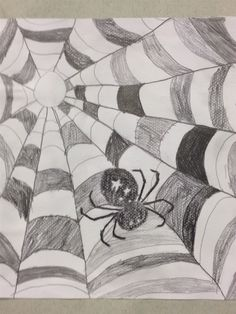 Kuvis ja askartelu 2 - www.opeope.fi Middle School Art, Art School, 4th Grade Crafts, 5th Grade Art, Halloween 2, Pencil Drawings, Art Lessons, Crafts For Kids, October