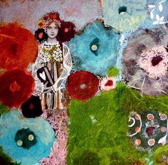 victoria Picini: Jardin secret , 20x20 cm