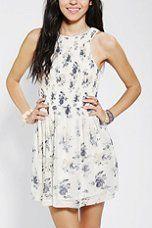 UO mini floral dress