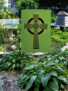 Custom Decor Flag Easter Cross Decorative Flag at Garden House