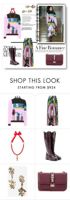 """""""Fall From Valentino"""" by muhammadtanim ❤ liked on Polyvore featuring Valentino and Haider Ackermann"""