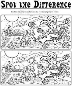Játékos tanulás és kreativitás: Húsvéti keresgélős feladatlapok