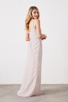 79bb4ec921f Willa Bridesmaid Dress in Ivory in Chiffon Sage Bridesmaid Dresses