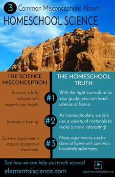 3 Common homeschool science myths debunked!