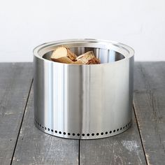 Constructed from high-grade, 304 stainless steel, this unique, wood-burning fire pit offers a durable and minimalist design for the patio. Vent holes at the base of the compact structure pull in air to efficiently fuel a fire, while also providing a boost of preheated air through the vent holes at the top of the burn chamber. The result is an eco-friendly, efficient, and lightweight vessel for safe outdoor fires.- 304 stainless steel- Outdoor use- Will not rust when stored in a cool, dry…