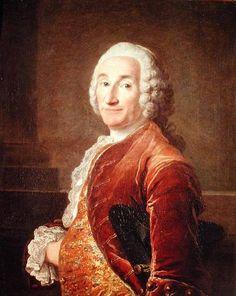 Louis François Armand de Vignerot du Plessis, 3ème. Duc de Richelieu (1696-1788); by Louis Tocqué.