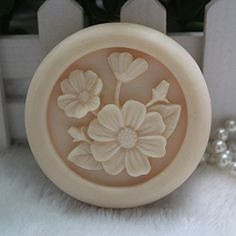 Creativemoldstore 1pcs 6.8x6.8x2.0cm Flower (zx10) Craft Art Silicone Soap Mold Craft Molds DIY Handmade Soap Mould * Continue to the product at the image link.