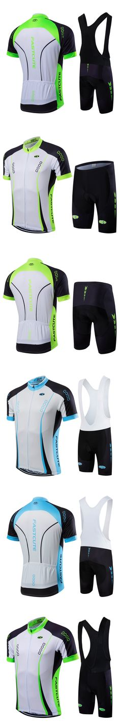 FASTCUTE 2017 Florenca Summer Short Sleeve Cycling Jersey set Mountain Bicycle Wear Racing Bike Clothing Ropa Conjunto Ciclismo