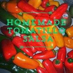 Homemade Tomatillo Salsa Recipe - SnapGinger